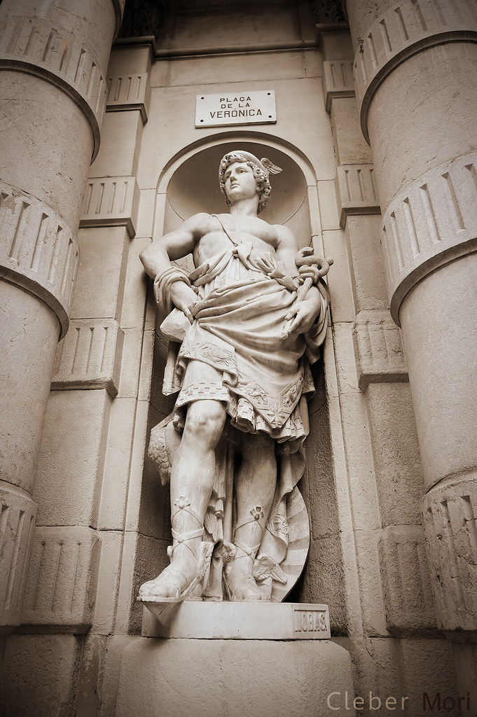 Hermes Statue A K A Mercury By Rossend Nobas In
