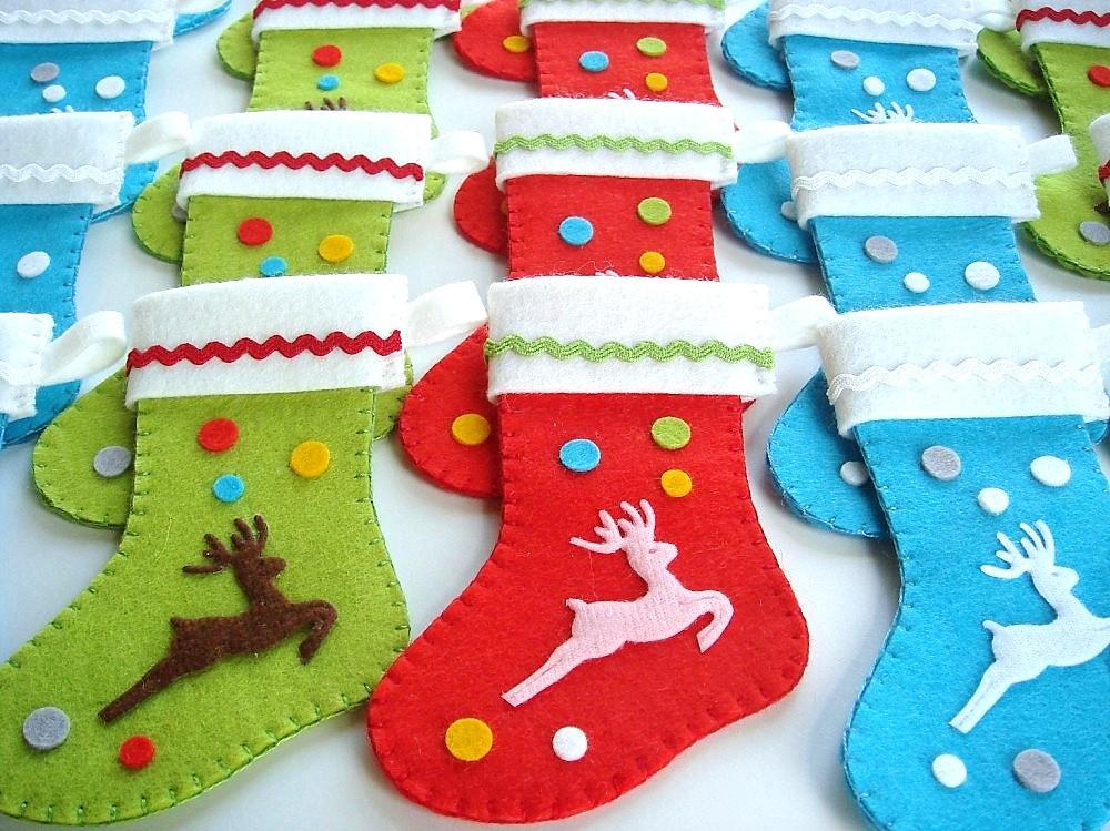 Mini Christmas Stockings More New Christmas Goodsnew
