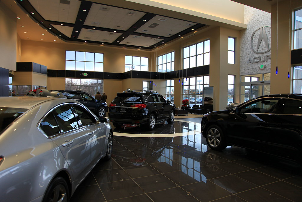 Muller Acura Showroom Northwest Indiana Car Dealerships