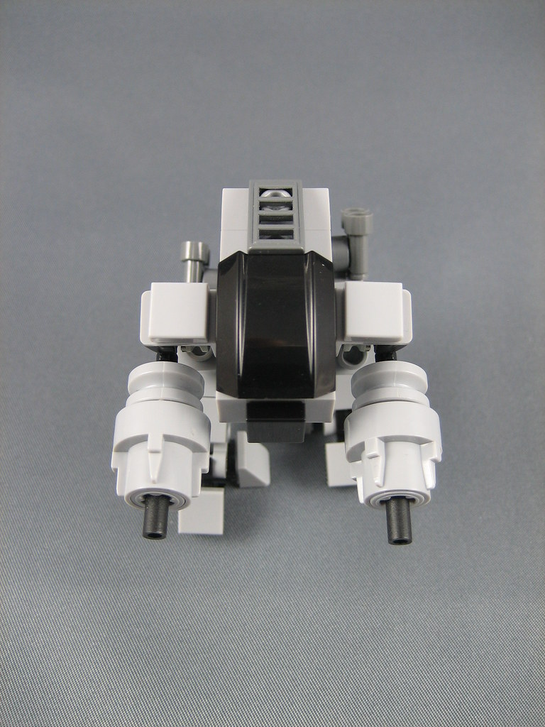 Mini LEGO ED 209 From Robocop This Is A Minifig Scale ED