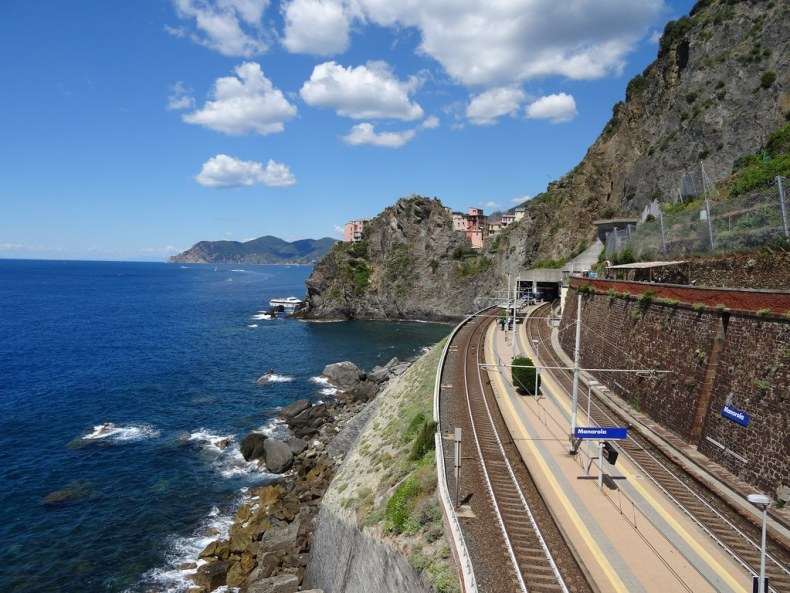 Manarola Train Station.