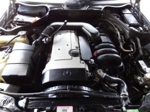 W124 Engine Mercedes Benz 300E 32 Black (30) | W124