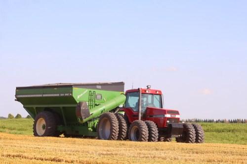 Grain cart.