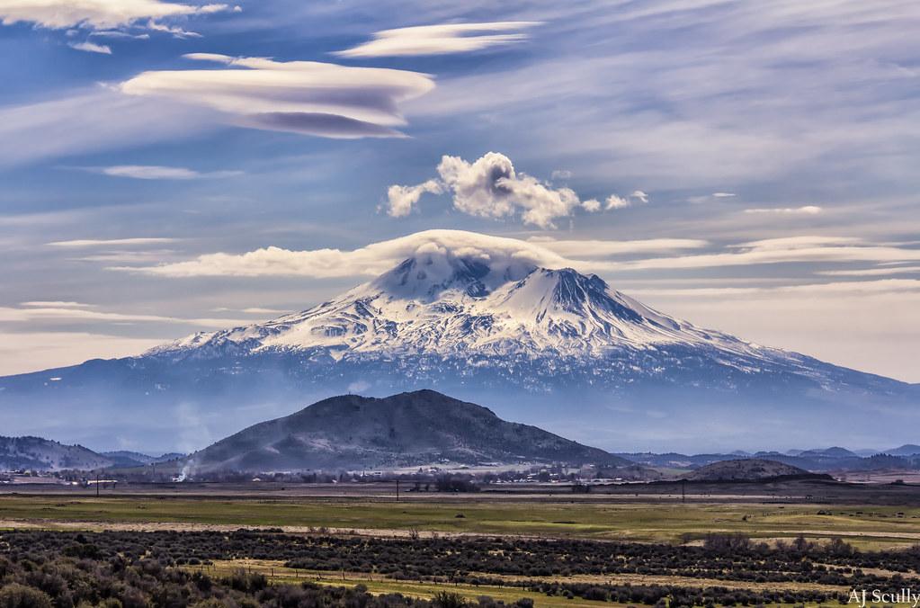 Mt Shasta Mt Shasta In Northern California This Was Shot Flickr