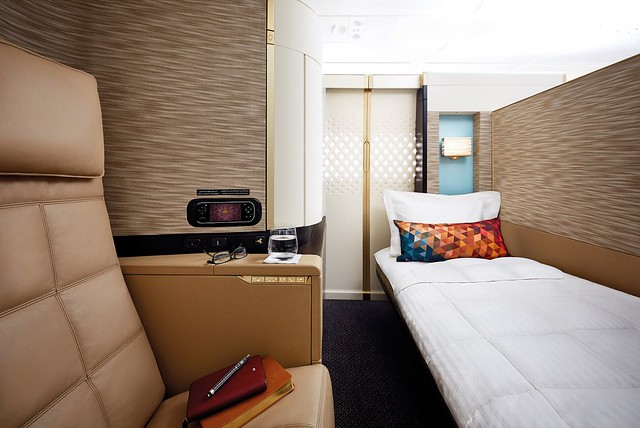 Etihad Airways A380 First Apartment