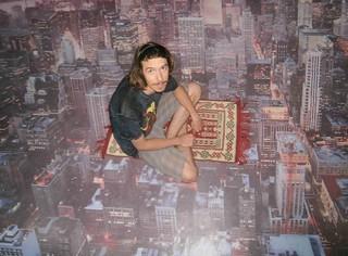 Kyle on a magic carpet