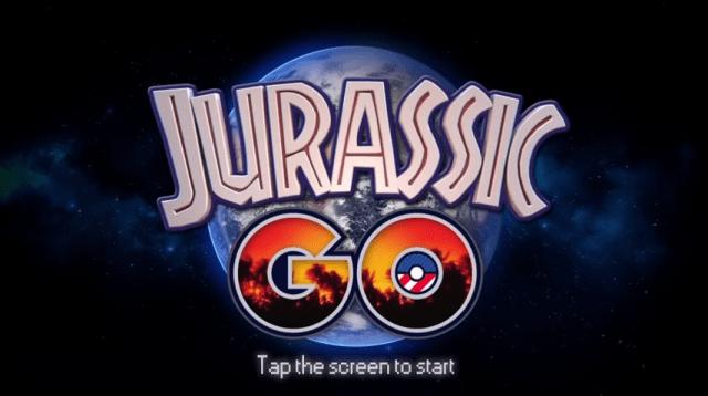 Jurassic GO por Manuel Bejarano