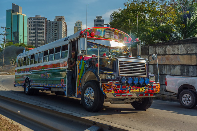 Panamanian Bus