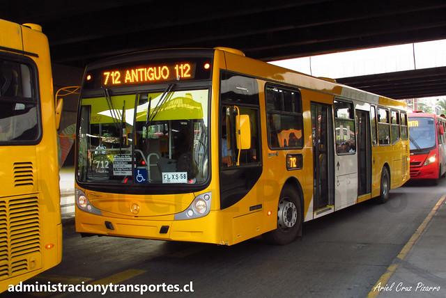 Transantiago 712 | STP Santiago | Caio Mondego H 13.2 - Mercedes Benz / FLXS58