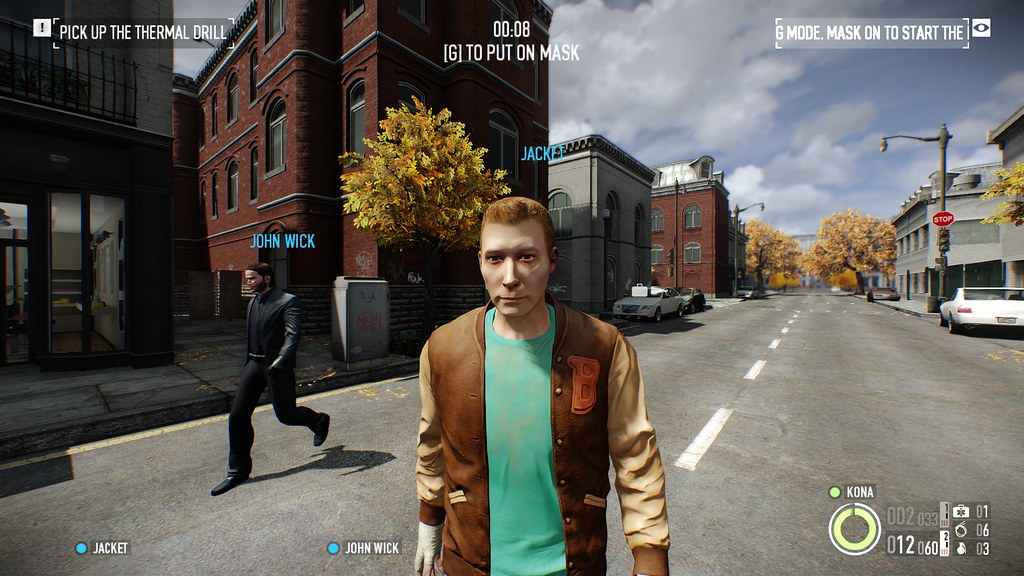 Hotline Miami Protagonist Jacket The Payday 2 Model Of