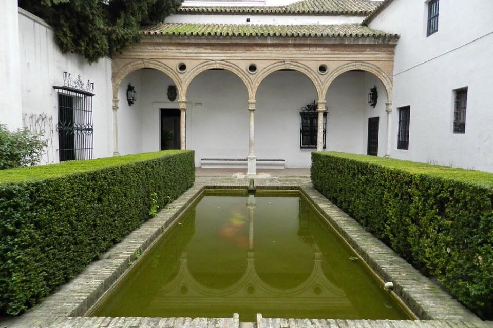 estanque Patio de Levies Real Alcazar de Sevilla 09