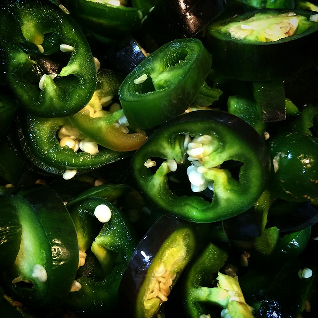 Jalapeños. Ingredientes TEX-MEX