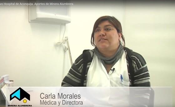 Carla Morales. Médica y Directora Nuevo Hospital de Aconquija