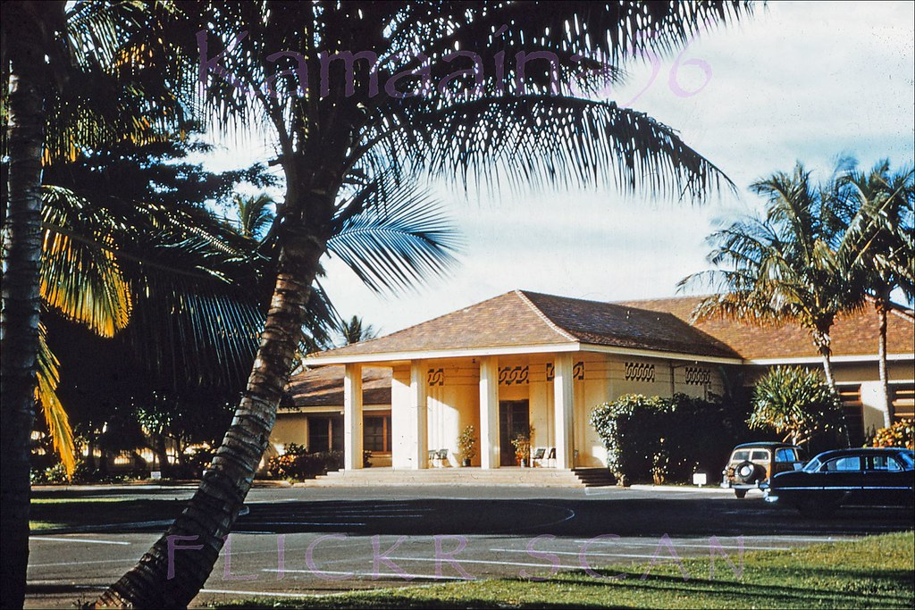 Hickam Afb Officers Club 1953 The Old Officers Club At