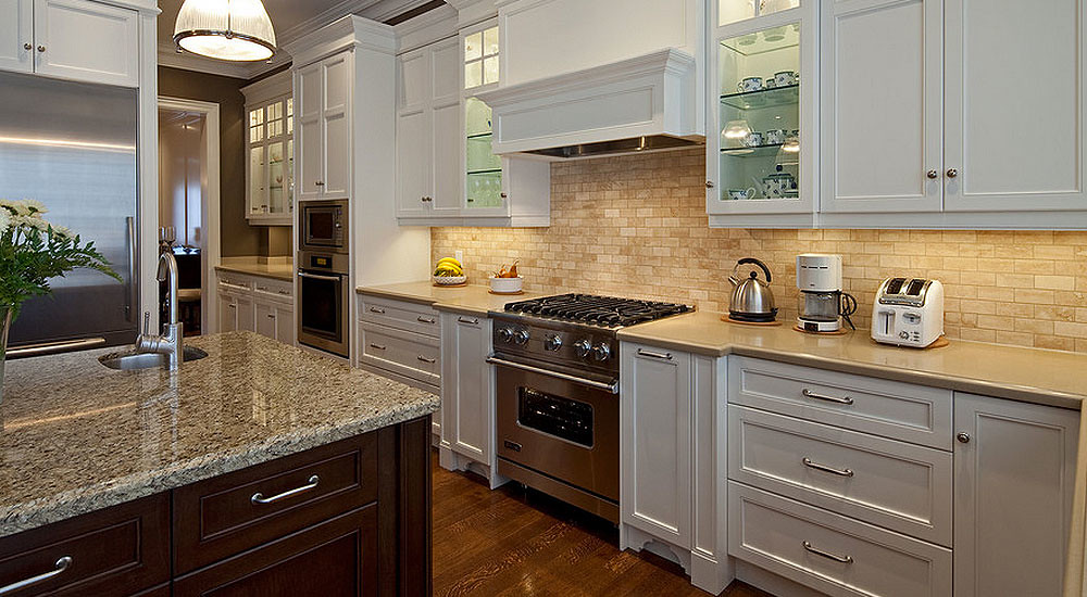 Backsplash Ideas for White Cabinets | #KitchenBacksplash ... on Backsplash Ideas For White Cabinets And Granite Countertops  id=79855