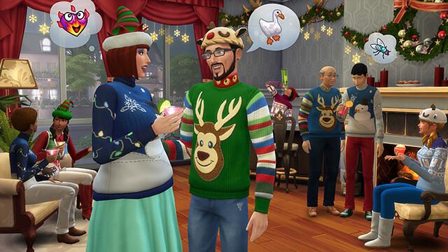 Les Sims 4 Noël