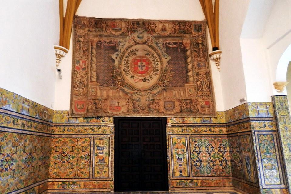 Sala de las Bovedas Palacio Gotico Real Alcazar Sevilla 02