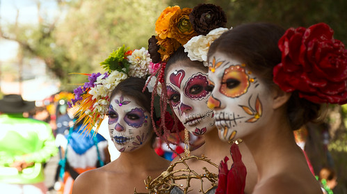 3 Day Of The Dead Girls