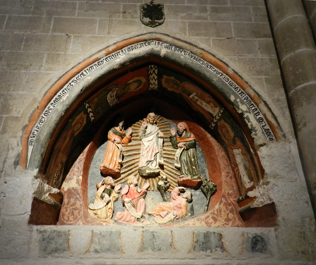 Sepulcro del alcalde don Lope Rodriguez de Olivares Catedral San Salvador Zamora 16