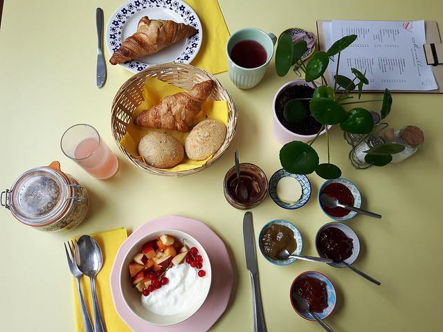 Marcelline - ontbijten in Oostende
