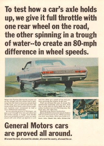 1965 pontiac cars » 1965 General Motors Pontiac Bonneville Advertisement Newsw      Flickr     1965 General Motors Pontiac Bonneville Advertisement Newsweek May 3 1965    by SenseiAlan