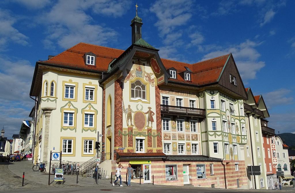 Bad Tolz Casco Histórico Baviera Alemania 13