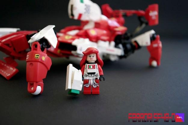 MRL Ferrari SF48-O Aurora Rossa