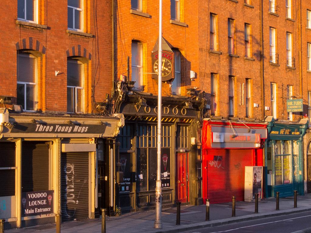 Dublin at golden hour