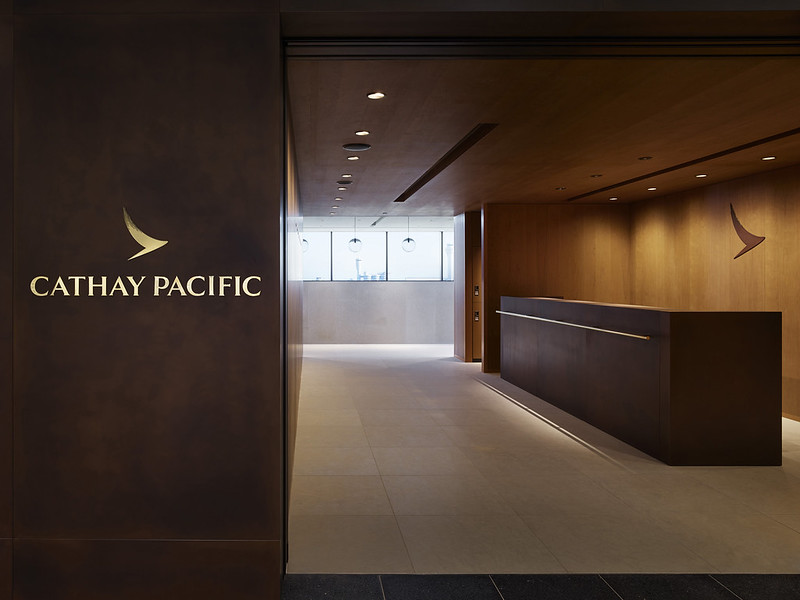 Cathay Pacific Lounge, Haneda