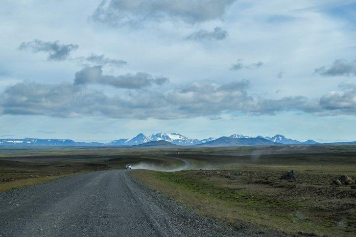Ruta de Kjölur en las Highlands de Islandia