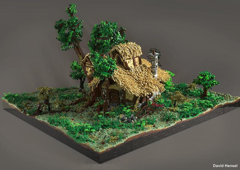Amazing Hobbit House Bonsai Tree Beautiful Trees In Your