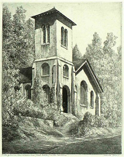 St. John in the Wilderness Postcard