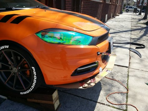 How to Build and Install a Custom Front Wind Splitter