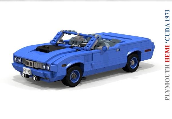 Plymouth 1971 HEMI 'Cuda Convertible | A Genuine Example ...