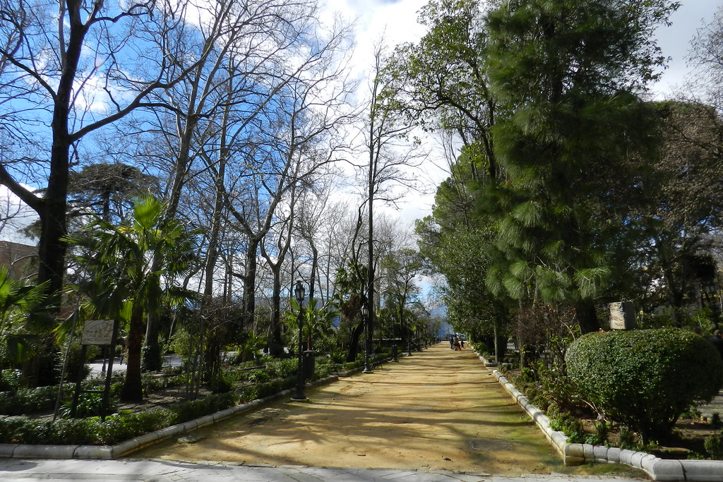 Jardin Alameda del Tajo Ronda Malaga 02