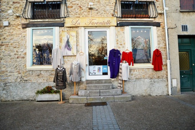 Vintage clothes, rambouillet, france, winter, photography