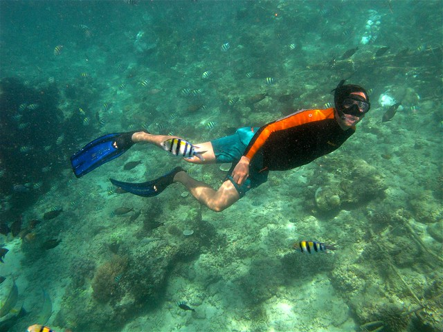Snorkeling at Gili Air