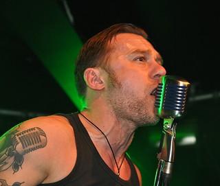 Matt Fitzsimons of Gasoline Outlaws live at Limelight, Belfast