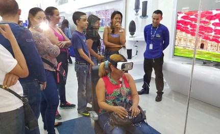 Puedes disfrutar de la realidad virtual de Samsung, en todas las tiendas CLX de Venezuela o en las tiendas Samsung de América Latina.