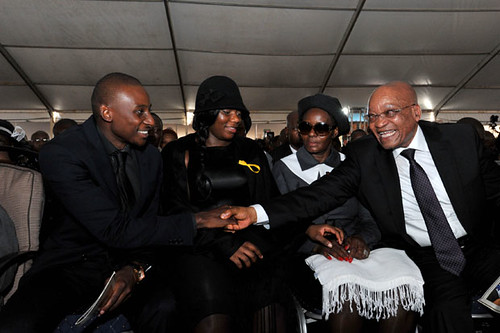 Minister Collins Chabane Funeral 21 Mar 2015 President