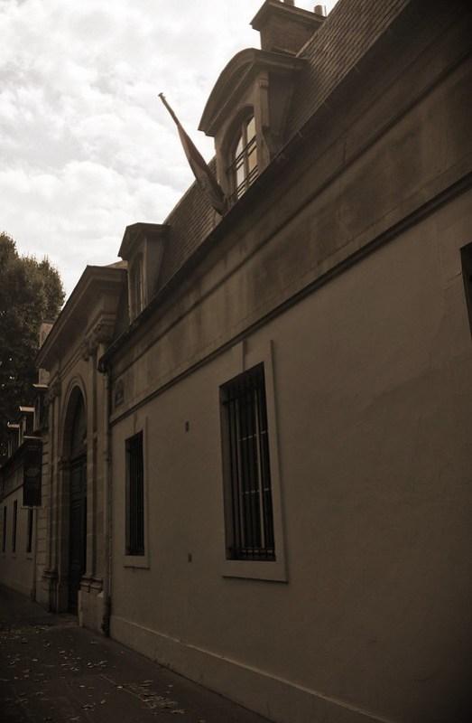 L'ambassade du Paraguay, contiguë à la Maison de l'Amérique latine (1 rue Saint-Dominique)