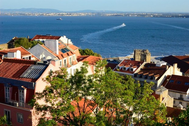 View from the Castelo de Sao Jorge | Two Free Days in Lisbon | No Apathy Allowed