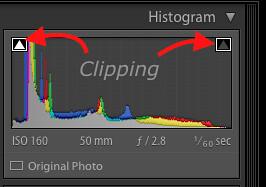 Clipping, Histogram, Lightroom Tutorial for Food photos, Lightroom tutorial, Editing RAW files in Lightroom,  Lightroom Food Tutorial, How to edit food photos in Lightroom,