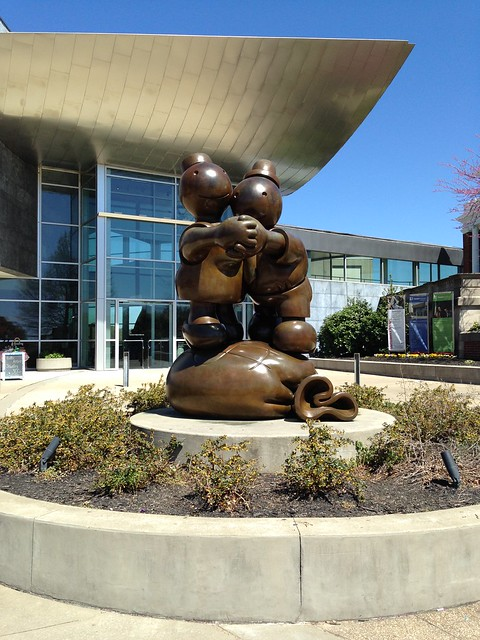 Tom Otterness: Free Money at Hunter Museum of American Art, Chattanooga TN