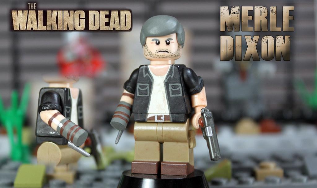 Custom LEGO The Walking Dead Merle Dixon Youve Got To