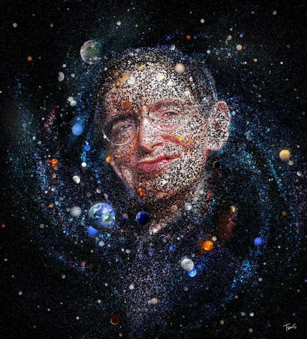 The amazing universe of Stephen Hawking (for Monet magazin ...