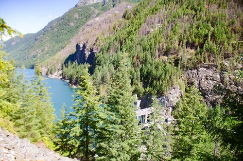 Gorge Lake and Gorge Creek Falls