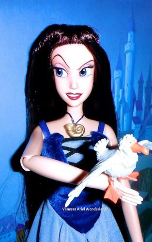Vanessa Singing Doll 17 Disney Store Full Repaint By Lule