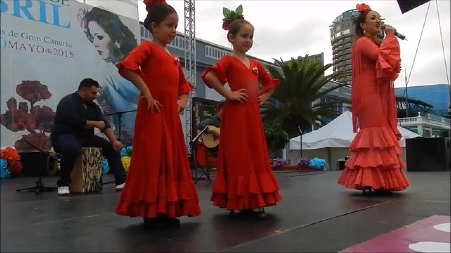 Laura Doreste, Yuniel Rascón, Pepe Cortes 1 VIII Feria de abril Las Palmas Gran Canaria