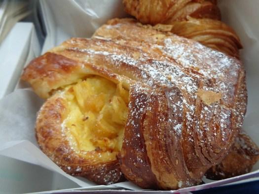 Peach Danish, La Boulangerie, New Orleans LA
